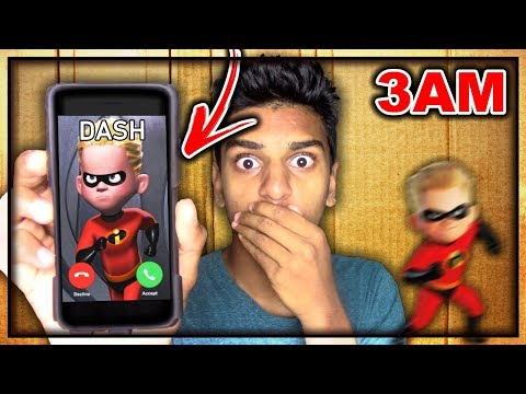 DO NOT MAIL YOURSELF IN A BOX TO DASH (FROM INCREDIBLES 2) AT 3AM!! *OMG I GOT SUPERPOWERS*