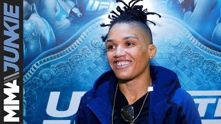 The Ultimate Fighter 26 Finale: Sijara Eubanks full media day interview