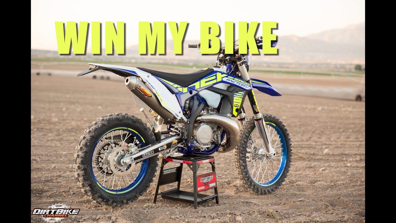 Win My Dirt Bike I Am Giving It Away 2017 Sherco 300 Se R