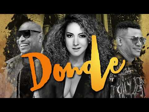 Erika Ender & Gente de Zona - Donde  Remix (Lyric Video)