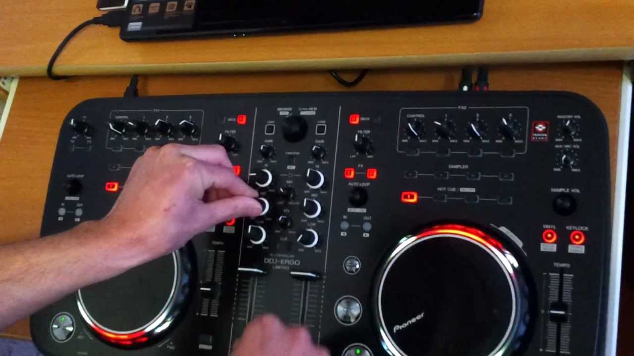 Pioneer DDJ-ERGO-K DJ Controller Drivers Mac