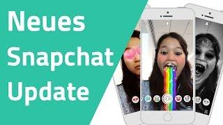 Snapchat Update mit neuen Selfie Animationen