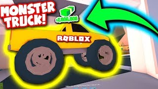 SAVING UP FOR THE MONSTER TRUCK! - ROBLOX Jailbreak Live