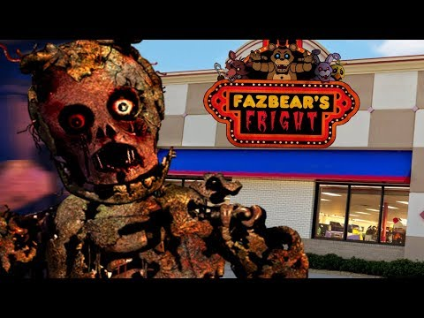 BUILDING THE FNAF 3 PIZZERIA AND PHANTOM ANIMATRONICS  Five Nights at Freddys Animatronic Universe