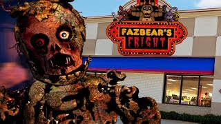 BUILDING THE FNAF 3 PIZZERIA AND PHANTOM ANIMATRONICS || Five Nights at Freddys Animatronic Universe