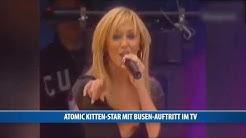 Atomic Kitten-Star mit Busen-Auftritt im TV