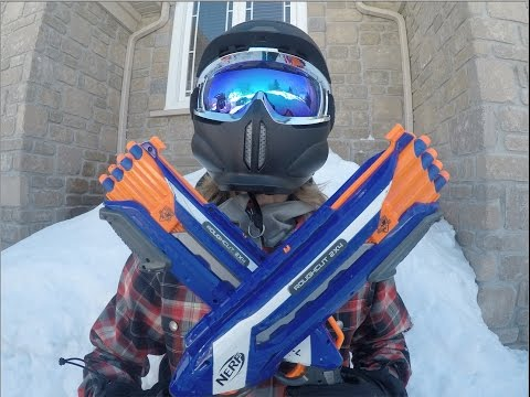 Thumbnail: Nerf War: Winter Warfare