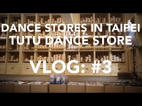 DANCE STORE IN TAIPEI, TUTU DANCE STORE