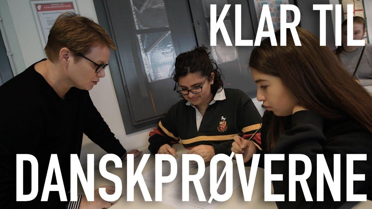 Sådan gør du dine elever skarpe til danskprøverne
