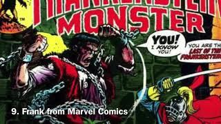Top 10 Depictions oḟ the Frankenstein Monster