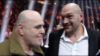 'ALL HEAVYWEIGHTS -SUCK MY ****!' -TYSON FURY & BIG JOHN FURY REACT TO GROVES WIN OVER EUBANK (RANT)