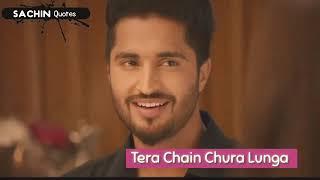 Tera chain chura lunga || Jassie gill || What'sapp status