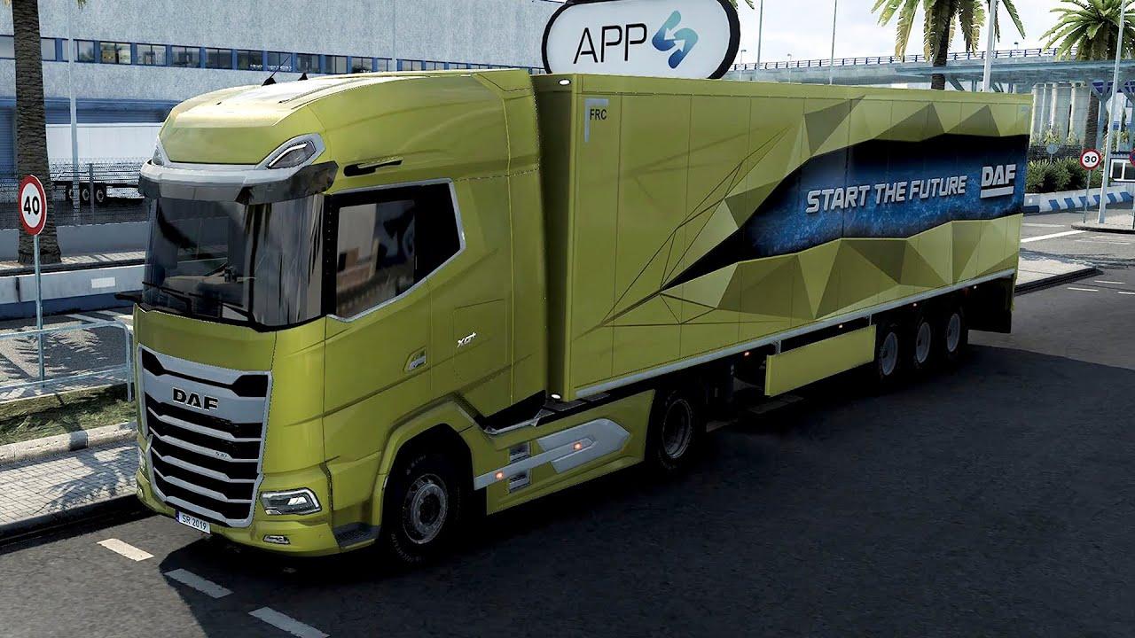 DAF XG+ 2021 – 4K50fps – Euro Truck Simulator 2 – Experimental Beta 1.41