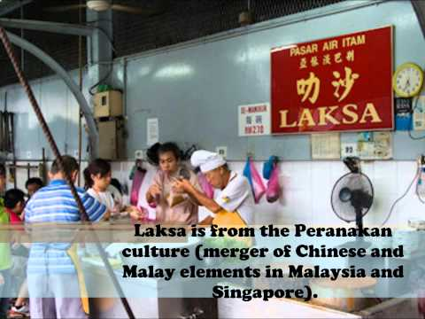 Traditional Food for Malaysian Studies
