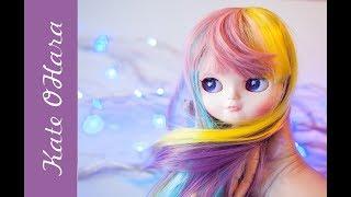 Парик для кукол Blythe и ICY. Обзор кукольных покупок.