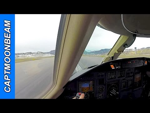 Landing Eagle Colorado, Rock slide on I-70, Pilot Vlog 47