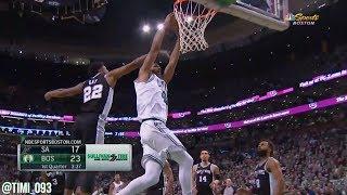 Al Horford Highlights vs San Antonio Spurs (14 pts, 13 reb, 5 ast)