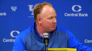 Kentucky Wildcats TV: Mark Stoops - Pre-Louisiana-Monroe