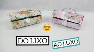 Diy: Mini baú/ maleta de rolo de papel