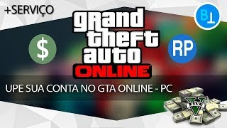 GTA V PC UPANDO CONTA - MOD MENU PC - CONTA DE CLIENTE