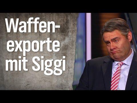 Im Gespräch mit Sigmar Gabriel: Wo stehen die Panzer? | extra 3 | NDR