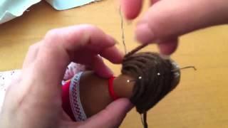 как сделать тильде волосы