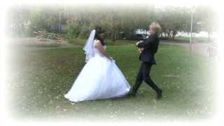 Веселая свадьба Кати и Рената. HD качество.