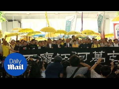 Occupy Hong Kong Activists Jailed For Leading Mass Protests
