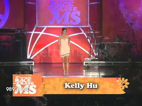 FASHION SHOW Kelly Hu at the 17th Annual Race To Erase MS Co Chaired By Nancy Davis & Tommy Hilfiger thumbnail