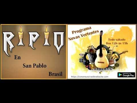 RIPIO  em Novas vertentes - Radio Fm Cena neural - (San Pablo - Brasil)