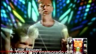Erasure A Little Respect Subtitulada (Video Original) [480p]
