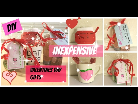DIY inexpensive Valentines day gifts to boyfriend/girlfriend/best friend 2017 | Easy budget student