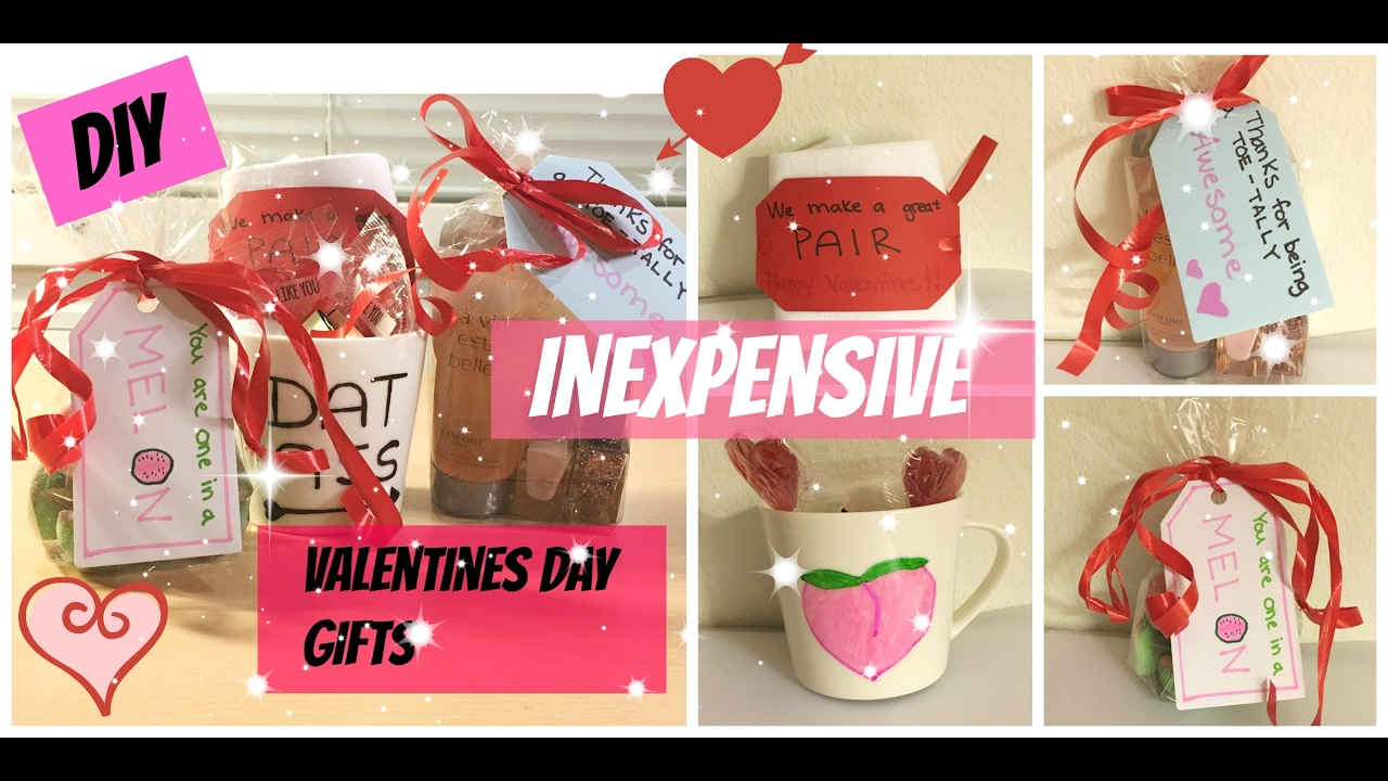 Diy Inexpensive Valentines Day Gifts To Boyfriend Friend Best 2017 Easy Budget Student You