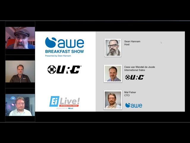 AWE Breakfast Show, featuring URC Automation
