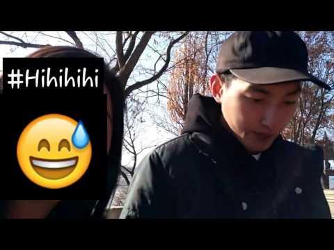 #5 CHALLENGE : Asking a handsome korean guy's Instagram   Korea Exchange Student Trip 2016