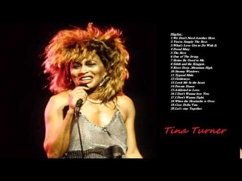 These songs of Tina Turner -  Tina Turner playlist