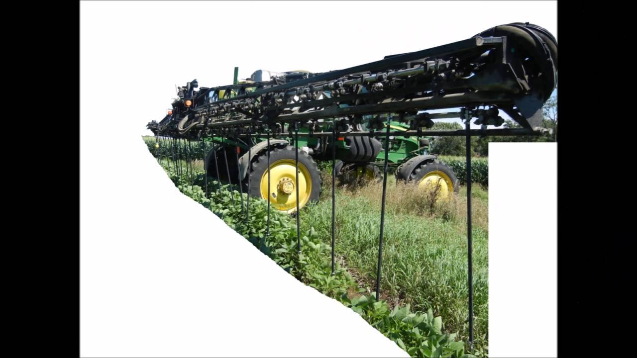 John Deere Sprayer >> C&R Supply Drop Nozzle - YouTube