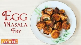 How To: Simple Egg Masala Fry | Ventuno Home Cooking