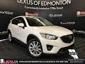 Used White 2013 Mazda CX-5 GT Walkaround Review Lacombe Alberta