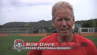 2012 Lobo Football | Coach Bob Davie: Last Day in Ruidoso Press Conference