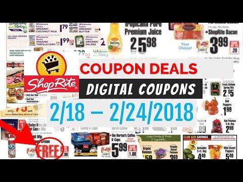 ShopRite Coupon Deals February 18 - 24,...