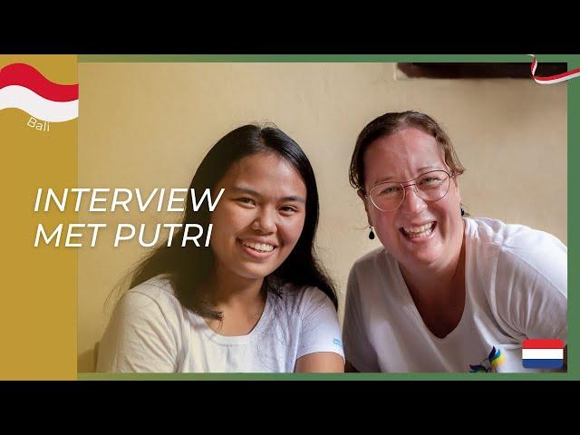 Interview met Putri over haar afstuderen