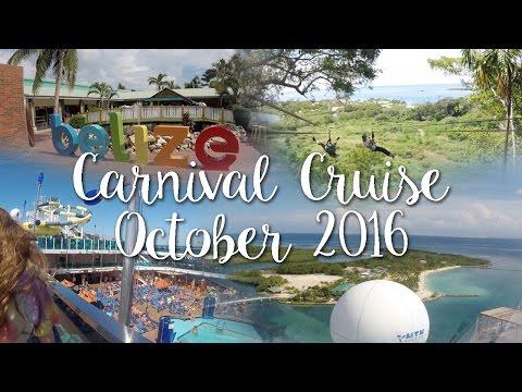 Cozumel, Belize, & Mahogany Bay | Carnival Cruise 2016