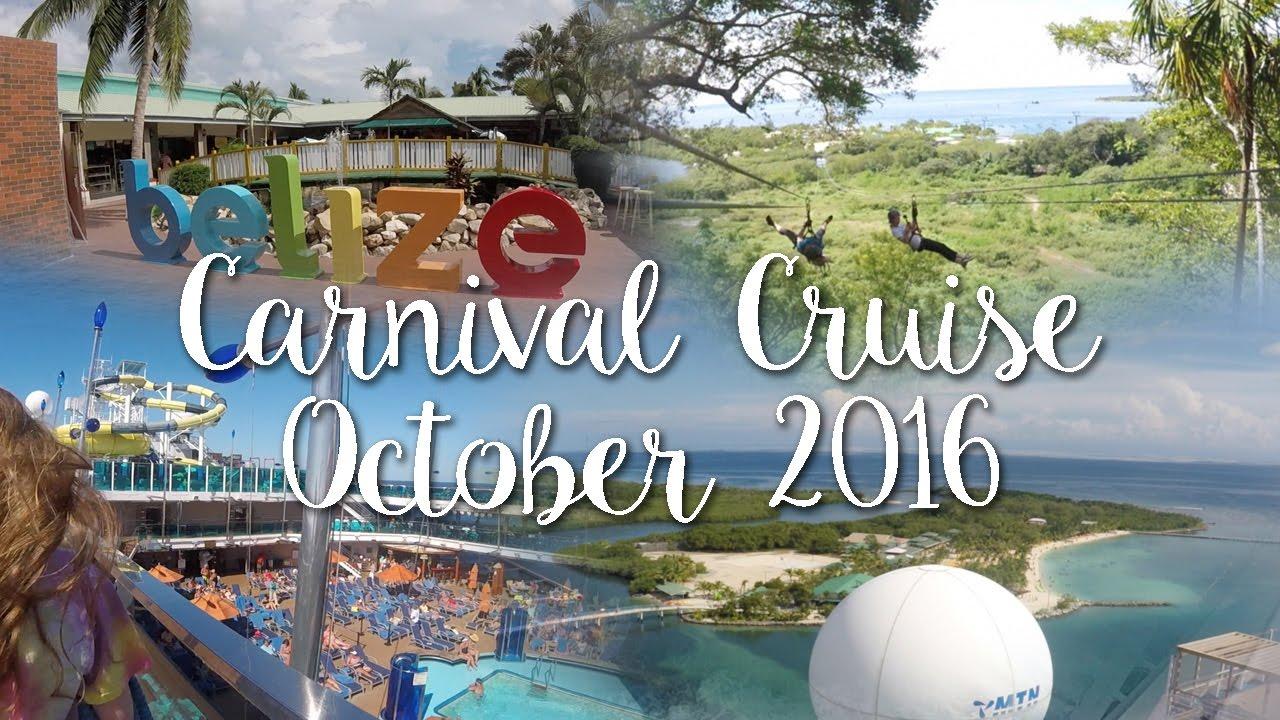 Cozumel Belize Amp Mahogany Bay Carnival Cruise 2016