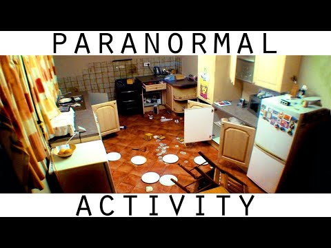 Scary Paranormal Activity. Intense Poltergeist Activity Caught on Video
