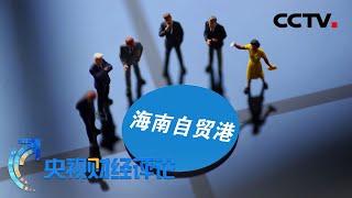 《央视财经评论》 20200609 零关税 零壁垒 海南自贸港带来哪些新机会?| CCTV财经
