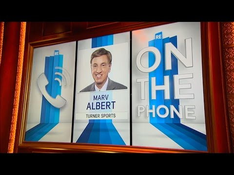 Legendary Broadcaster Marv Albert Talks NBA & More - 1/4/16