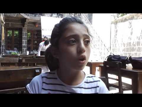 Çocuklar, Sur'da Çanakkale Marşı Okudu