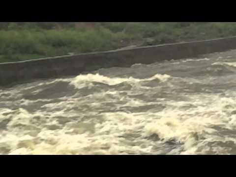 Nagpur Ambazari Lake Over Flow 2015 - Biggest Ever Overflow in Nagpur