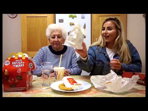 Aly - Irish Grandmother Tries Fast Food For The First Time